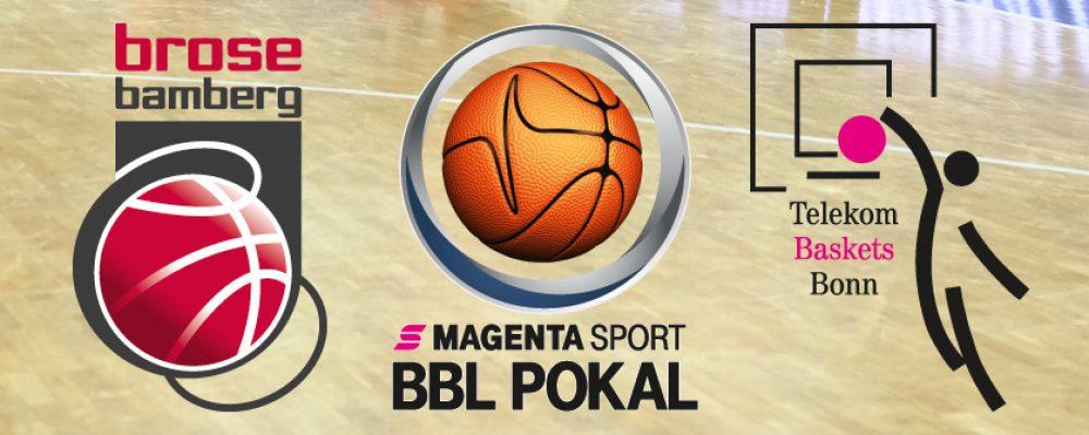 Krisen-Duell: Bamberg trifft im Pokal-Halbfinale auf Bonn