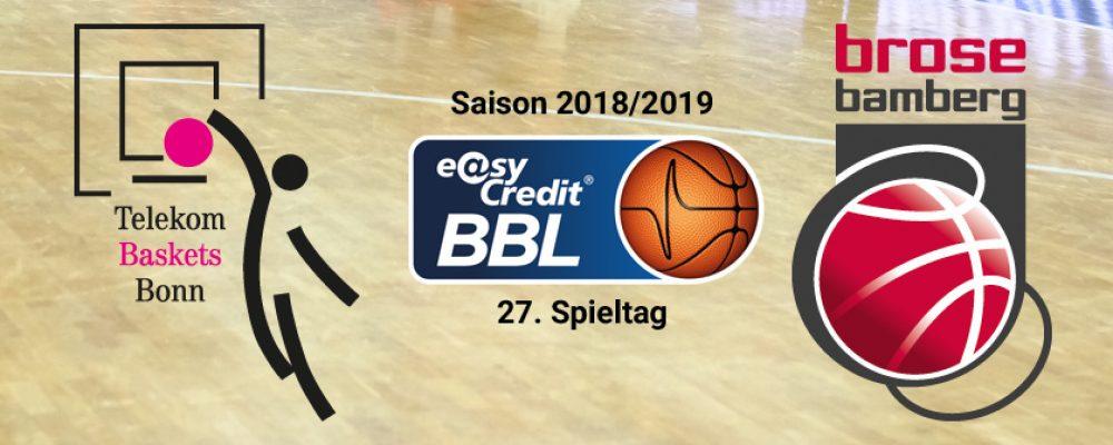 Brose Bamberg gastiert in Bonn – Final Four findet in Antwerpen statt