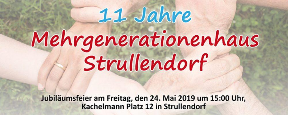 Jubiläumsfeier 11 Jahre Mehrgenerationenhaus Strullendorf