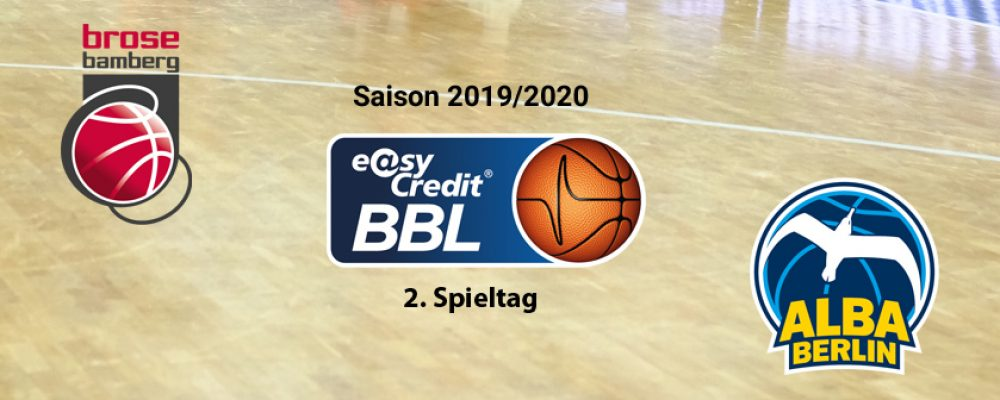 Alba kommt: Die Pokalfinal-Neuauflage als Bamberger Heimauftakt