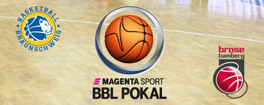 Brose Bamberg steht nach Sieg in Braunschweig im Pokalhalbfinale