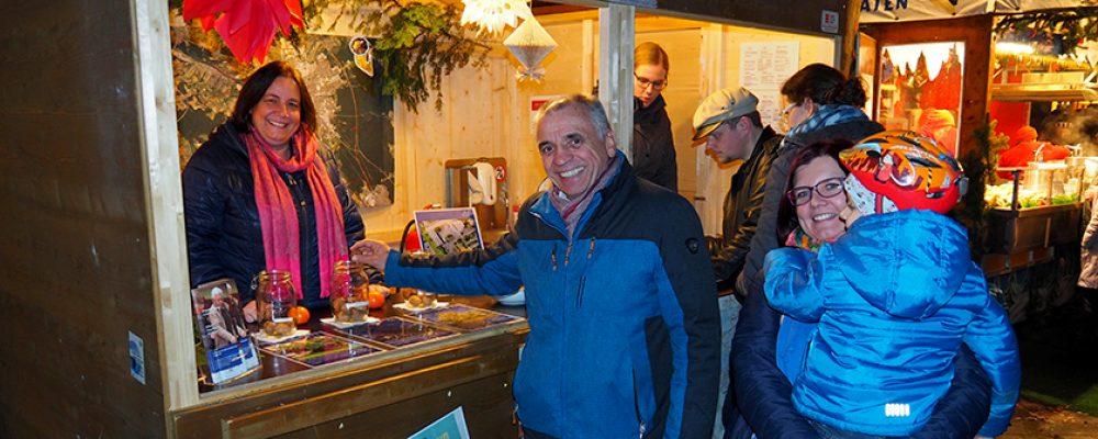 Rege Mitbestimmung auf dem Weihnachtsmarkt
