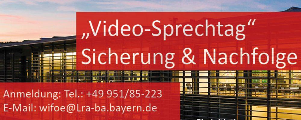 Video-Sprechtag Sicherung und Nachfolge am 17. Juni 2020