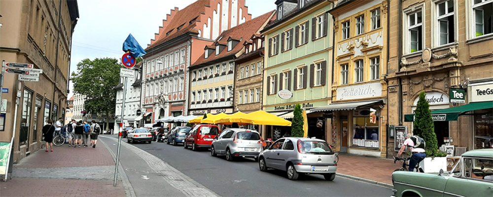 Stadtmarketing Bamberg erörtert Pläne für die Lange Straße