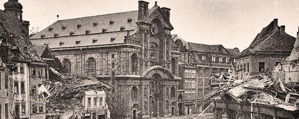 Bamberg vor 75 Jahren