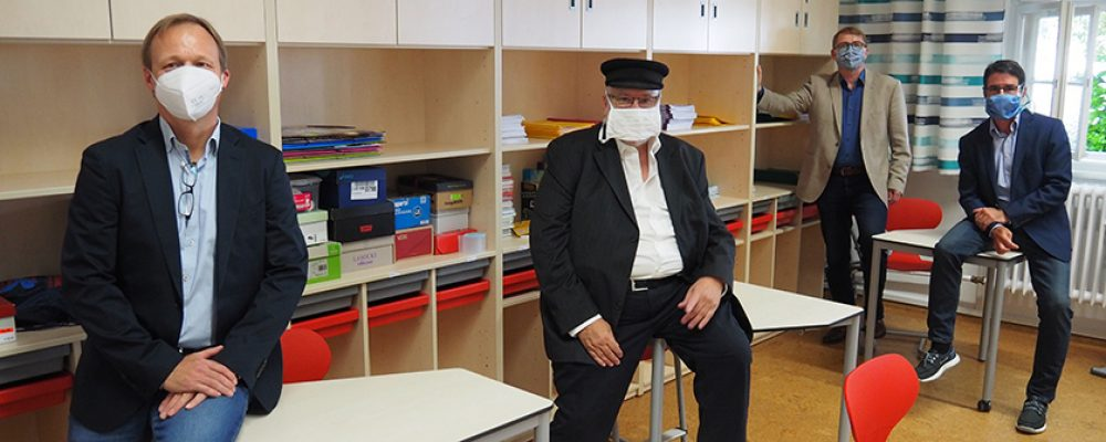 Flexibles Klassenzimmer an der Kunigundenschule