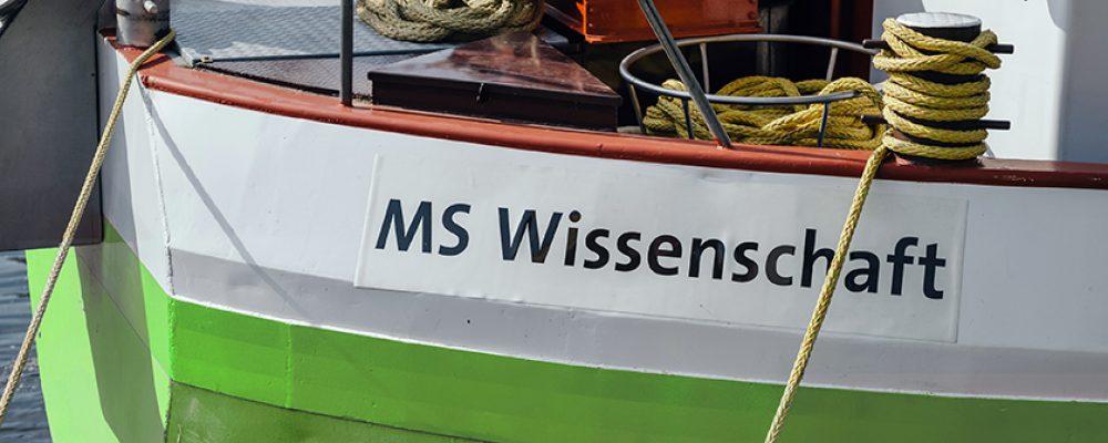 """Ausstellungsschiff """"MS Wissenschaft"""" macht Halt in Bamberg"""