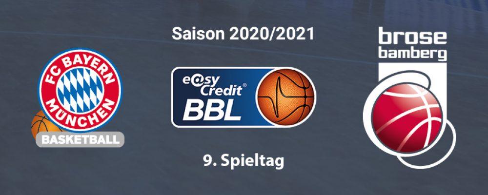 70:84 in München: Bamberg gibt Spiel im dritten Viertel aus der Hand
