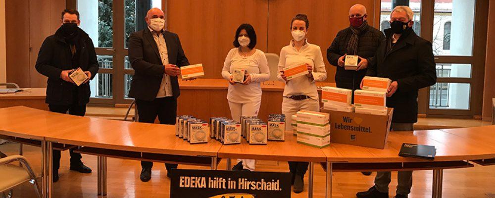 Sachspende im Wert von 7.500 Euro für Hirschaider Einrichtung