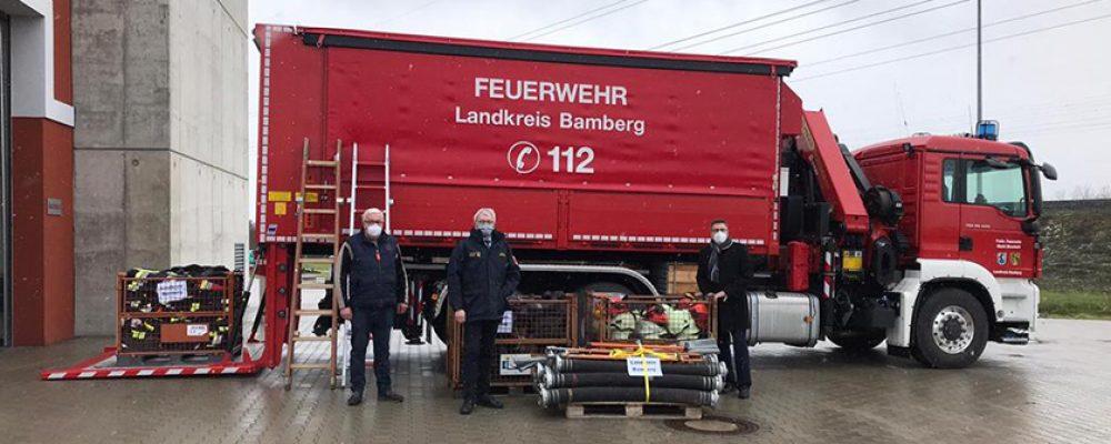 Erdbeben in Kroatien – Hilfstransport der Feuerwehren aus dem Landkreis Bamberg
