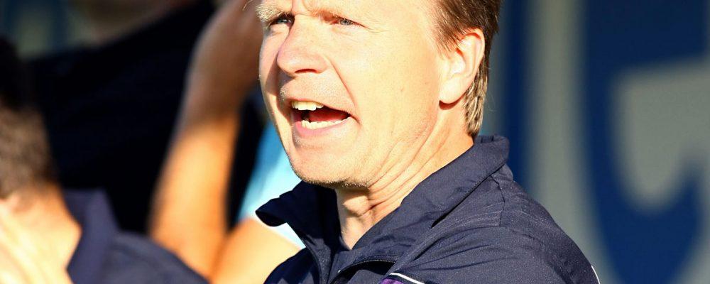 Cheftrainer Petr Skarabela bleibt bis Saisonende beim FCE