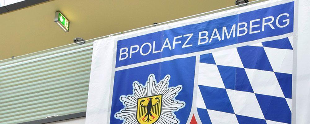 Neuer Jahrgang beim Bundespolizeiaus- und – fortbildungszentrum Bamberg
