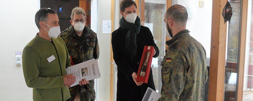 Stadt dankt Bundeswehr in Pflegeheimen