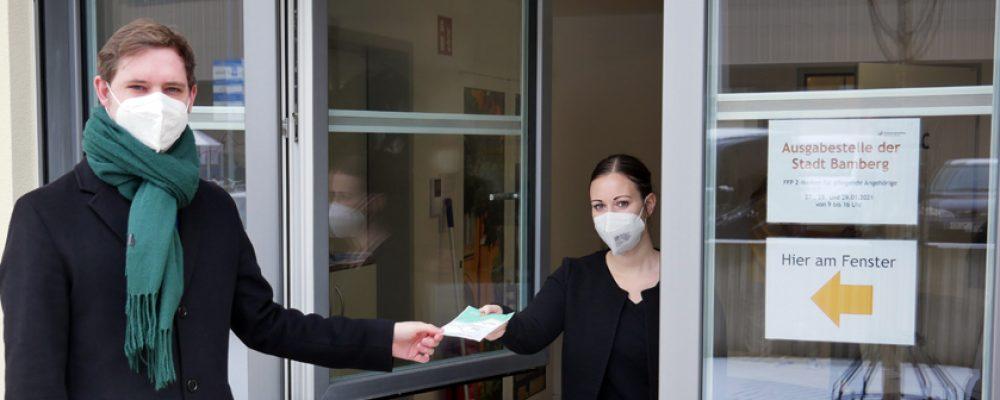 Verteilung FFP2-Masken für pflegende Angehörige gut angelaufen