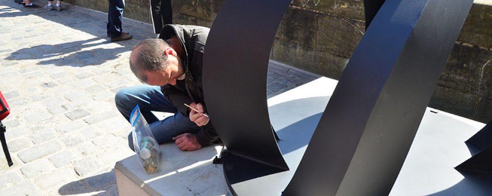 Rui Chafes kündigt Schenkung für zweite Skulptur an