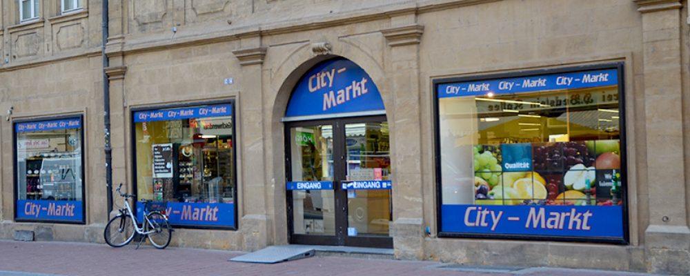 City-Markt in der Bamberger Innenstadt schließt bald