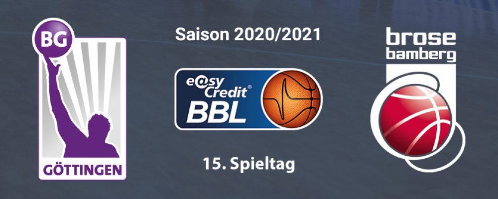 Brose Bamberg unterliegt in Göttingen