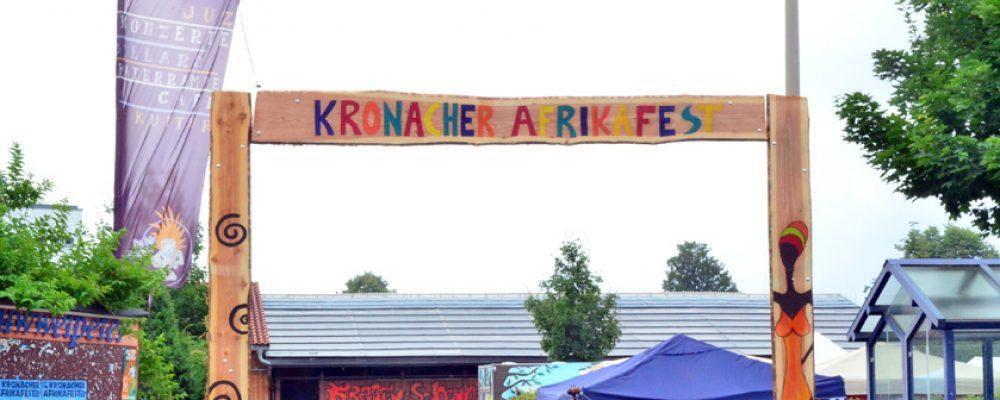 """5. Kronacher Afrikafest stand zwei Tage unter dem Motto """"Afrika Hautnah erleben"""""""