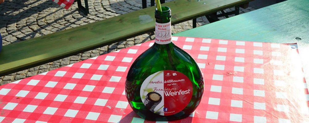 8. Bamberger Weinfest feierlich eröffnet