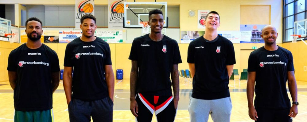 The Boys are back in Town: Trainingsauftakt bei Brose Bamberg