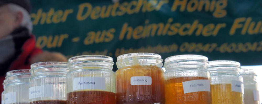 Honigvielfalt auf dem Maxplatz