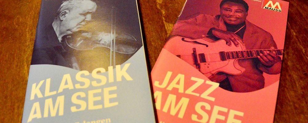 Auftaktveranstaltung zu Jazz und Klassik am See.