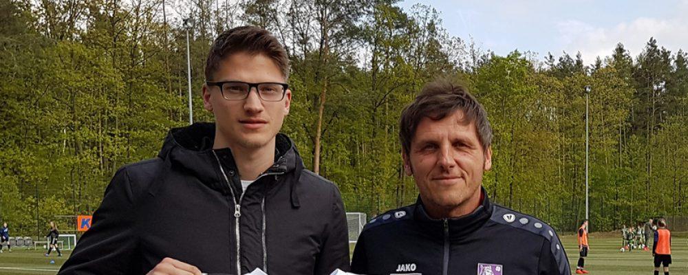 Im Gespräch mit Neuzugang Steffen Müller