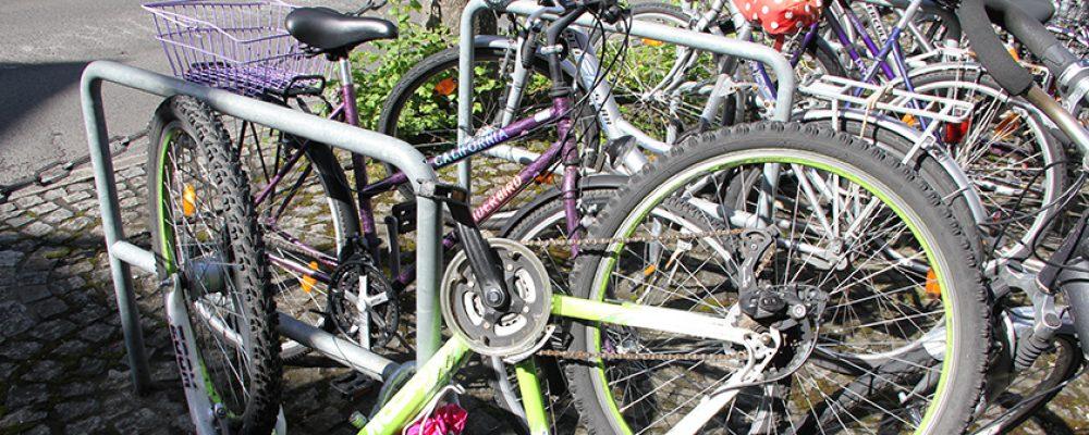 Schrottfahrräder werden wieder abgeholt