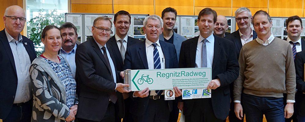Die schnelle Radverbindung Bamberg – Forchheim – Erlangen nimmt Fahrt auf