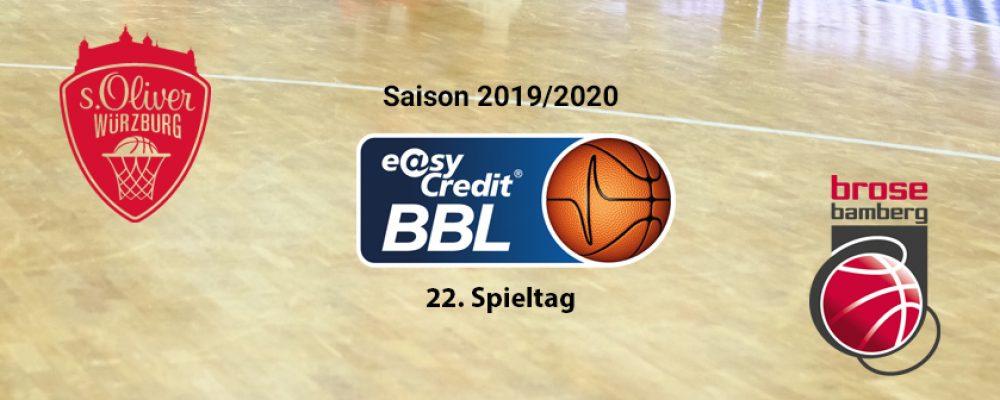 Brose Bamberg holt Derbysieg in Würzburg