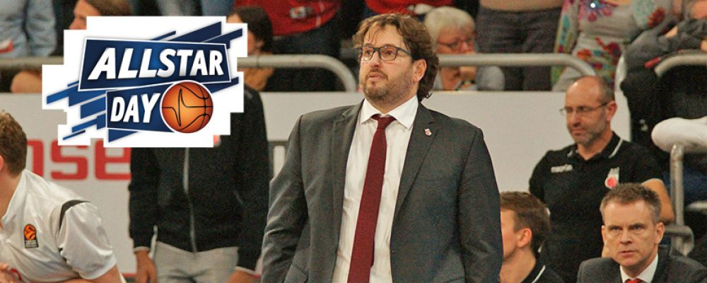 Andrea Trinchieri wird 2017 kein Allstar-Coach