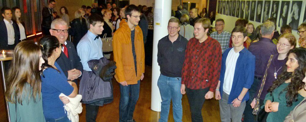 Bürgermeister Metzner begrüßt Bamberger Jungbürger