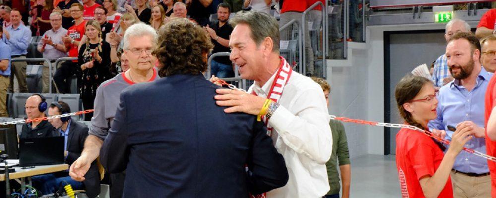Stoschek: Klares Bekenntnis zum Basketball-Standort Bamberg