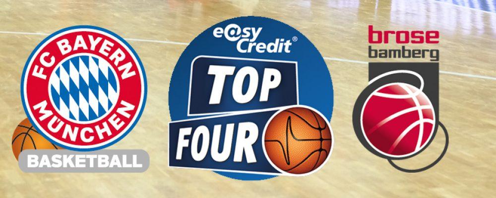 Pokalfinal-Neuauflage in der TOP FOUR-Qualifikation