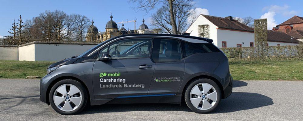 Touristisches E-Carsharing in der Region Bamberg