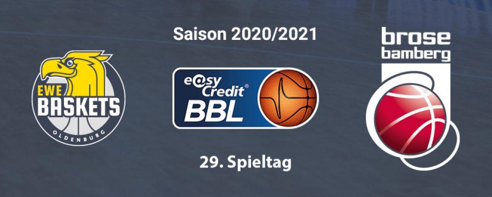 Brose will gegen Oldenburg Playoff-Platz weiter sichern