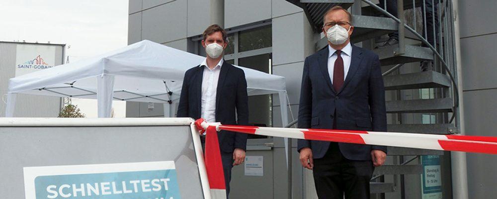 Weiteres Schnelltestzentrum in Bamberg-Nord/Ost eröffnet
