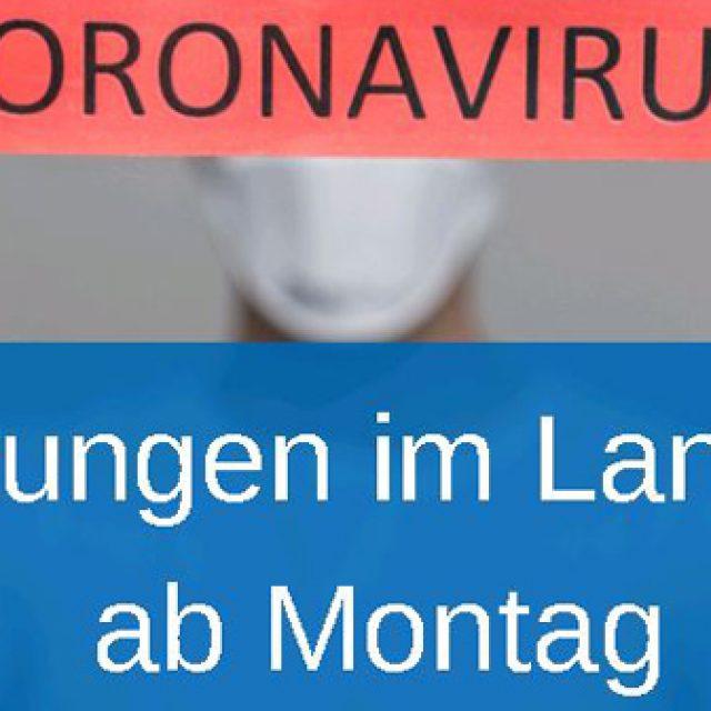 Lockerungen im Landkreis Bamberg ab Montag