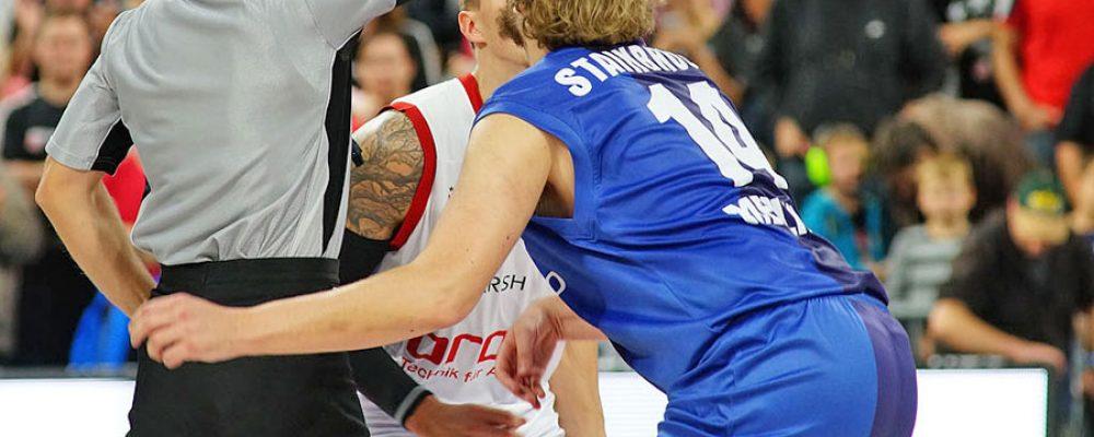 Brose Baskets mit ungefährdetem Erfolg in Crailsheim