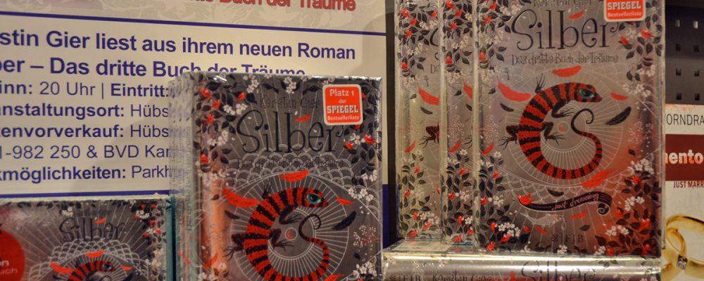"""Kerstin Gier liest aus """"Silber""""-Finale"""