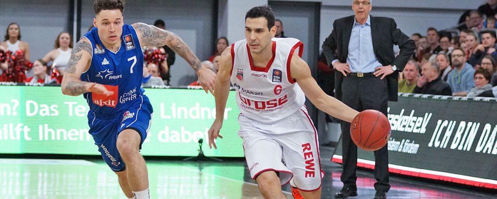 Brose Baskets besiegen Frankfurt