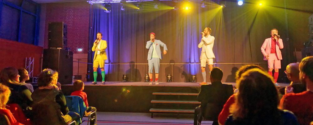 Singen für die Kindergärten