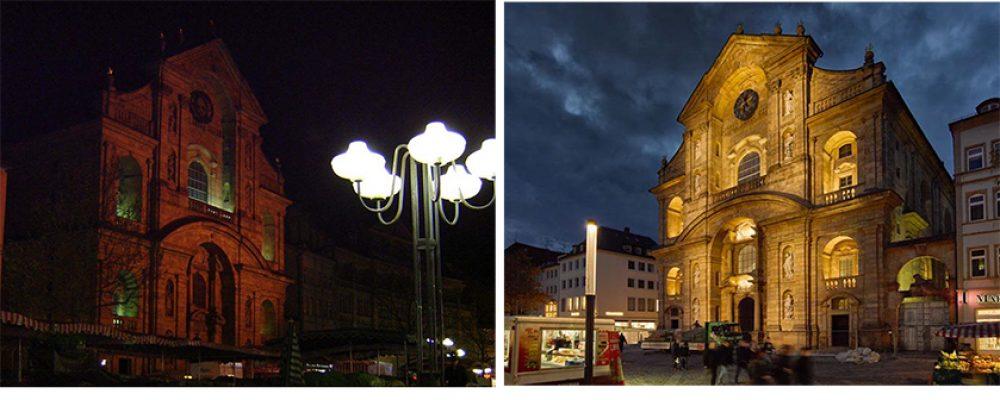 Beleuchtung von St. Martin: