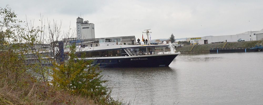 Tage des offenen Kreuzfahrtschiffs in Bamberg
