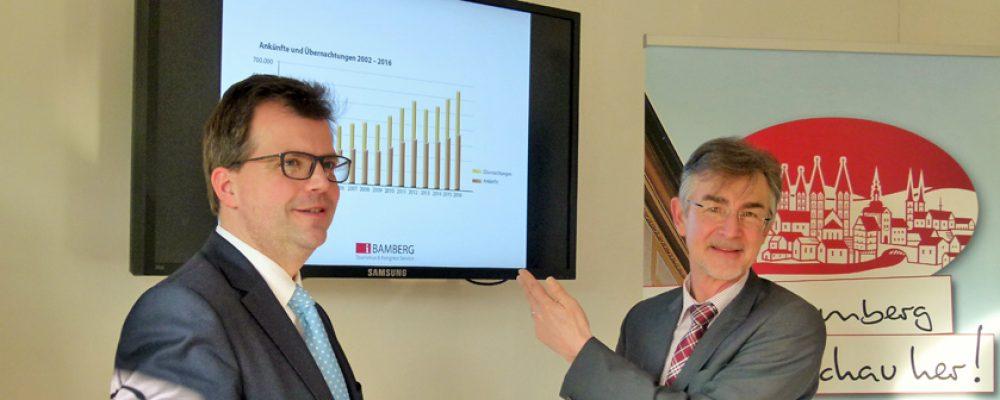 Stadt Bamberg zieht positive Tourismusbilanz für 2016