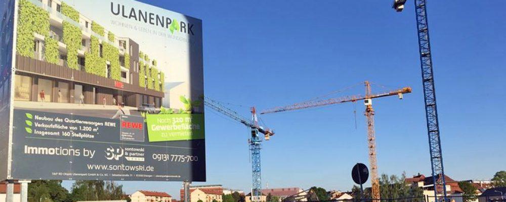 Ulanenpark Bamberg: Bauarbeiten liegen im Zeitplan