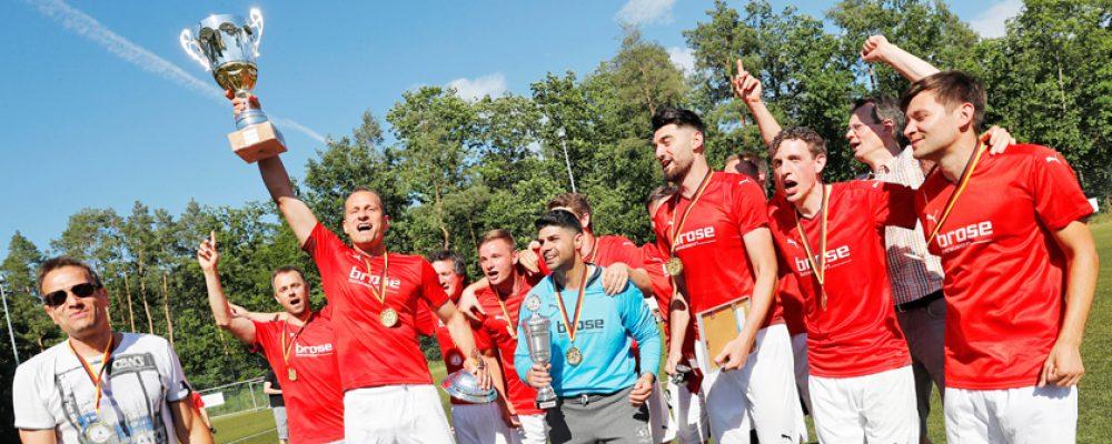 Brose-Standort Berlin Fußballmeister