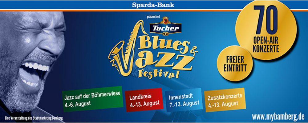 Deutschlands größtes eintrittsfreie Open-Air Blues- & Jazzfestival geht in die 11. Runde