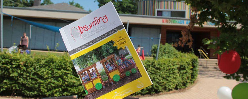 """Stadt und Landkreis Bamberg stellen neunte Ausgabe des Familienpasses """"Däumling"""" vor"""