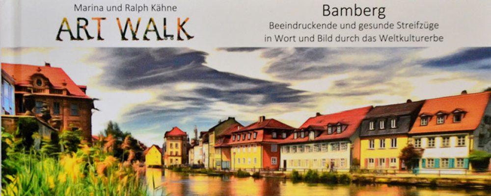 "Das erste ""ARTWALK Bamberg"" Buch erschienen"